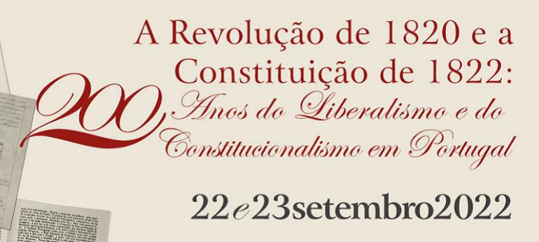 A Revolução de 1820 e a Constituição de 1822